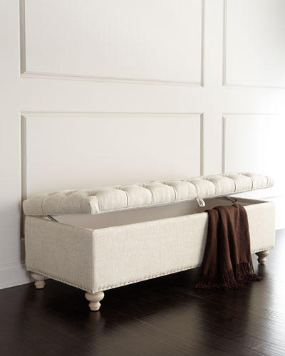 Marian Tufted Storage Bench