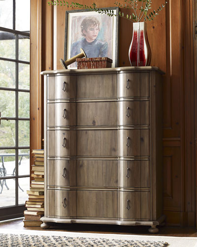 Aimee 5-Drawer Tall Chest