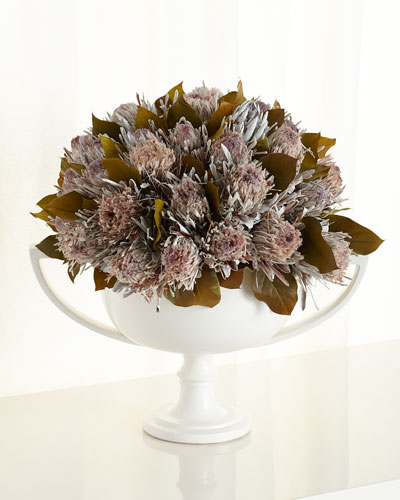 Regal Proteas Faux-Floral Arrangement