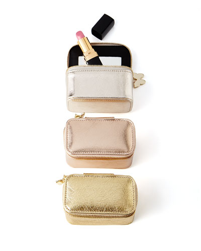 Metallic Lipstick Case