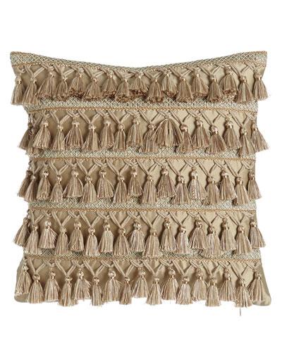 Gwenneth Tassel-Front Pillow, 16