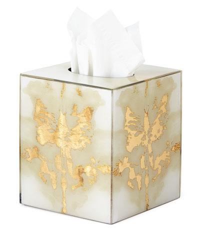 Ink Blot Tissue Box Cover