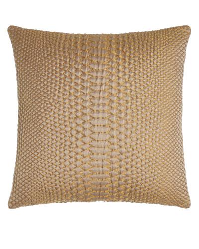 D'Or Metallic Pillow, 20