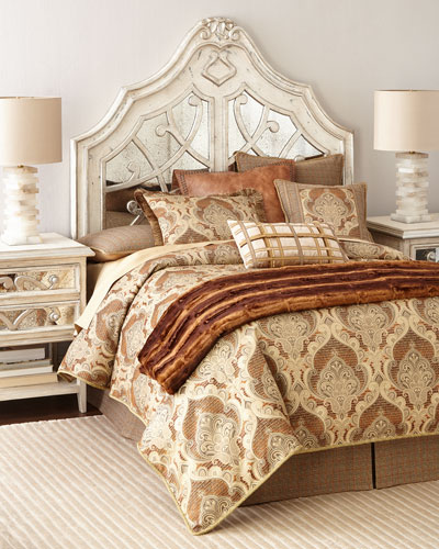 Lynley Mirrored King Headboard