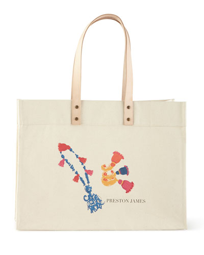 Bits & Bobs Extra-Large Personalized Tote