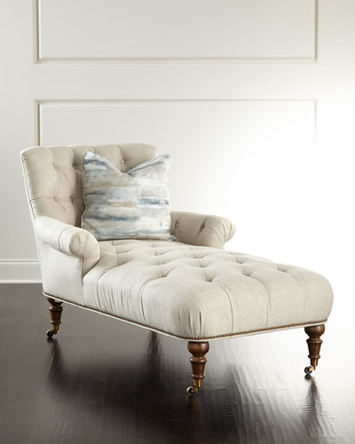 Timberview Tufted Chaise