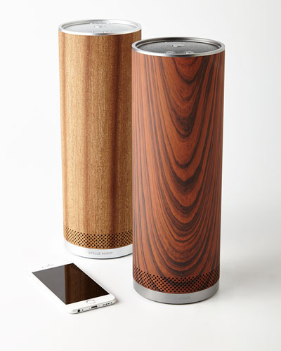 Wood Pillar Wireless Speaker