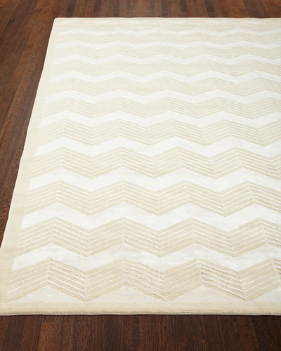 Wool Chevron Rug Horchow Com
