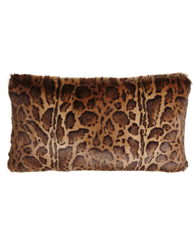 Kilimanjaro Faux-Fur Pillow, 13