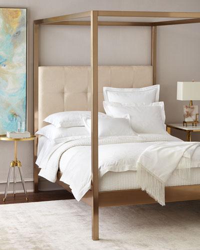 Brass Finish Canopy Bed - Brass Finish Canopy Bed Horchow.com