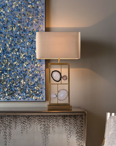 Agate Panel Table Lamp