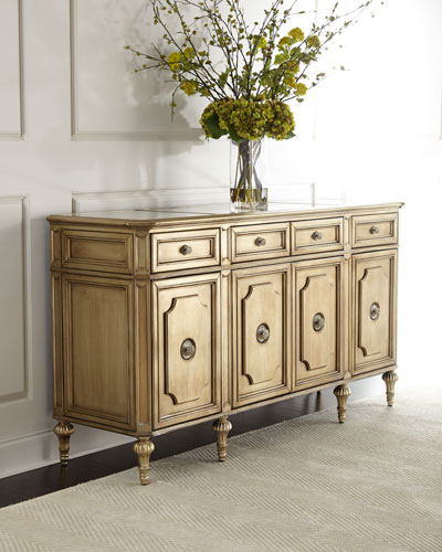 Roberta Mirror-Top Sideboard