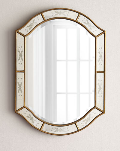 Beveled Boxed Mirror