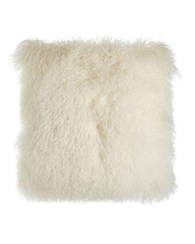 Chani Lei Parker Tibetan Lamb Pillow, 22