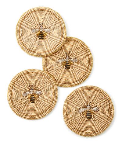 Bee Coasters, Set of 4