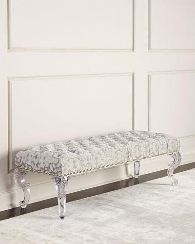 quick look prodselect checkbox regis acrylic leg bench - Acrylic Bench