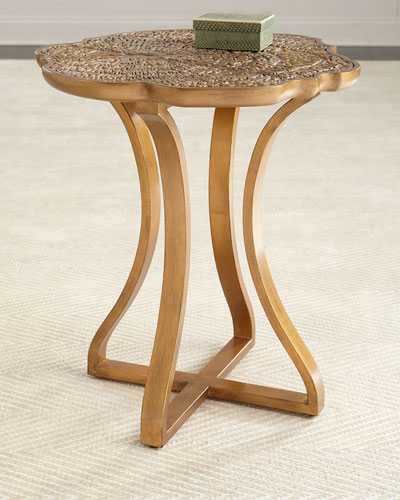 Bois Round Side Table