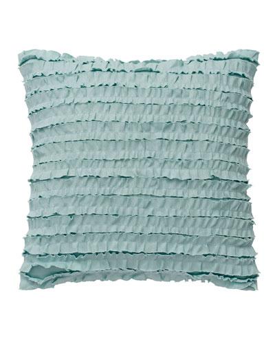 Luna Ruffle-Front Pillow, 14