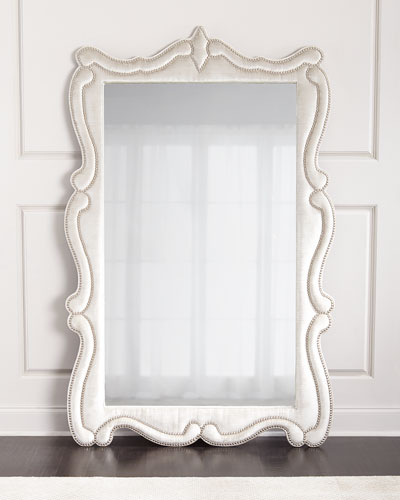 Silver Floor Mirror | horchow.com