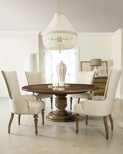 Horchow Furniture round dining table furniture | horchow