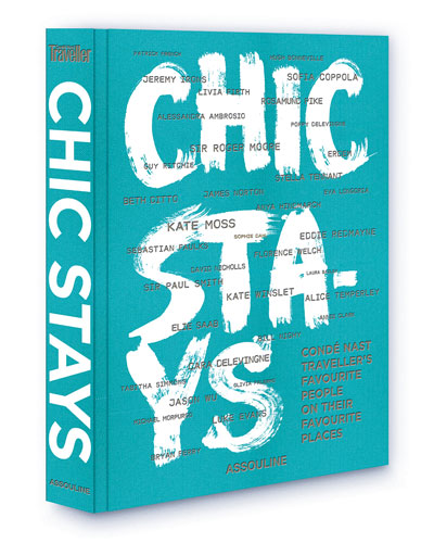 Chic Stays Hardcover Book