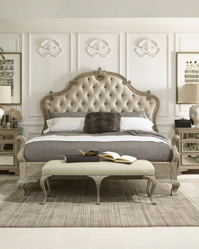 Imported King Bed Bedroom Furniture horchowcom