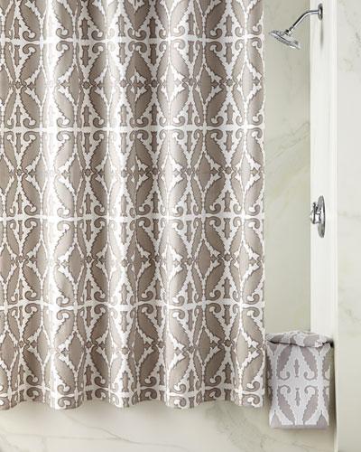 Cotton Shower Curtain