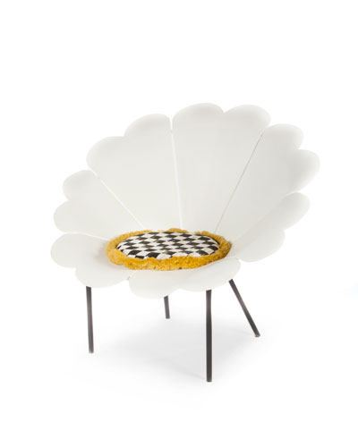 White Daisy Outdoor Chair