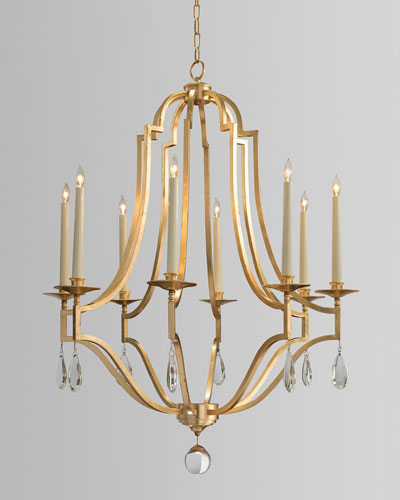 gold leaf chandelier silver quick look prodselect checkbox gold leaf crystal 8light chandelier horchowcom