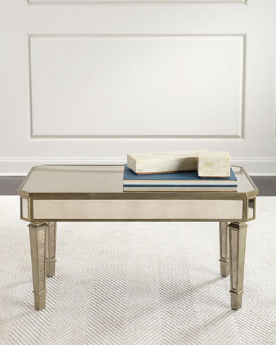 Isadora Mirrored Coffee Table