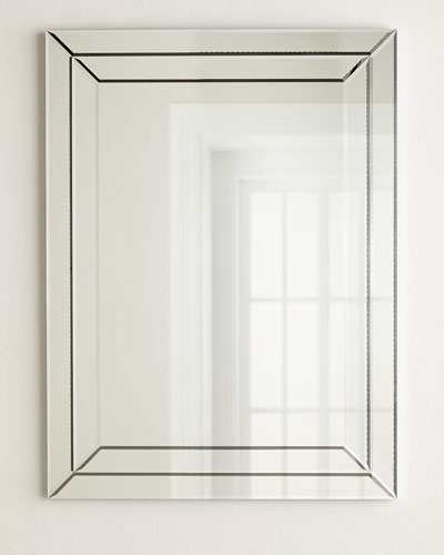 Beveled Boxed Mirror Horchow Com