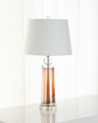 Modern Glass Ombre Lamp