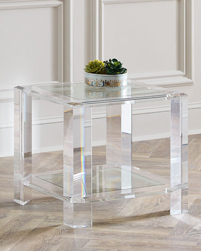 d5a0b6ac3d59 Quick Look. prodSelect checkbox. Langston Acrylic Side Table