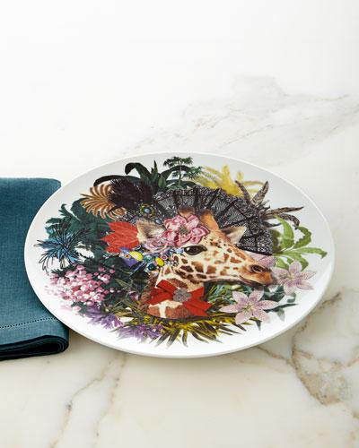 Dona Jirafa Charger Plate