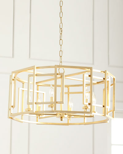 Horchow Lighting Chandeliers In Gold Leaf Lighting Horchowcom