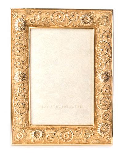 Flower Scroll Frame, 4
