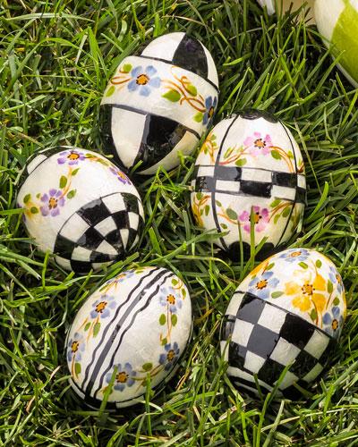 5 Violets Eggs