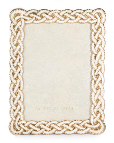 Cream Braided Frame, 5