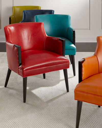 Alicia Leather Dining Chair
