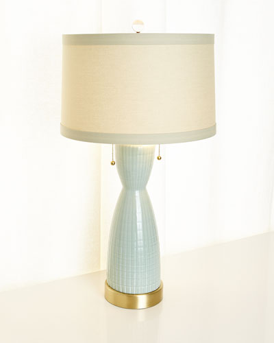 Corset Ceramic Table Lamp