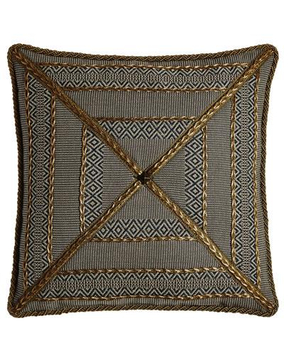 Manitoba Mitered Stripe Pillow, 20