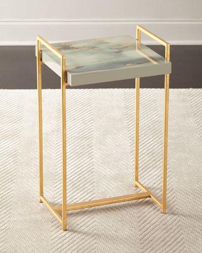 Ambrosia Watercolor Side Table