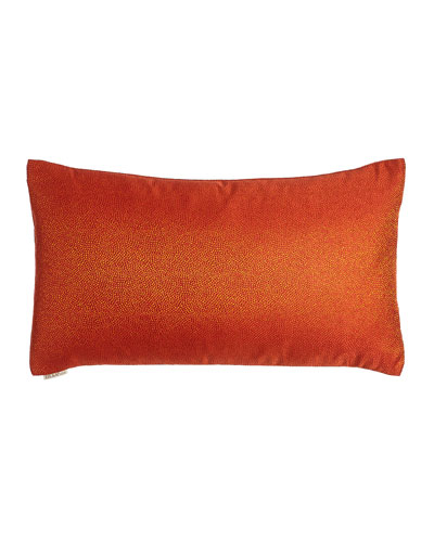 Whimsical Mango Pillow