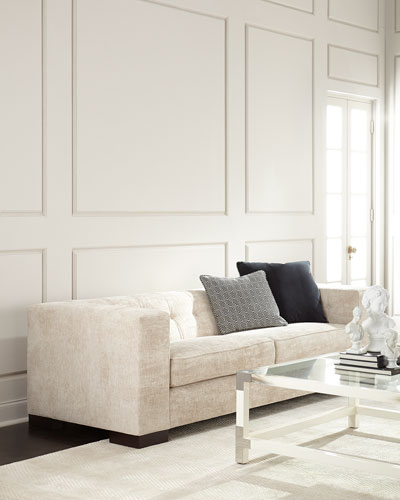 Chenille Living Room Furniture | horchow.com
