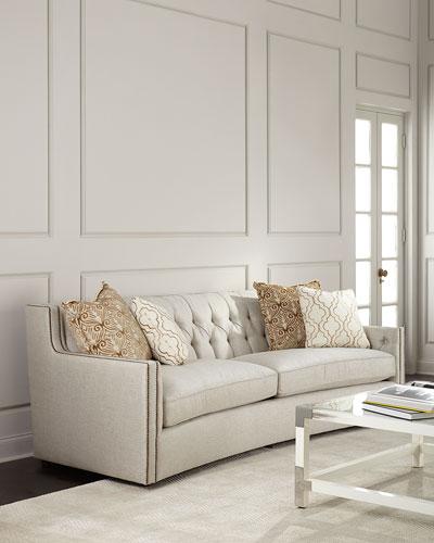 Acrylic Nailhead Trim Furniture | horchow.com on