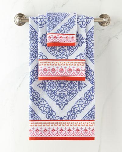 Mitta Periwinkle Hand Towel