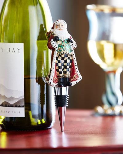 Highland Santa Bottle Stopper