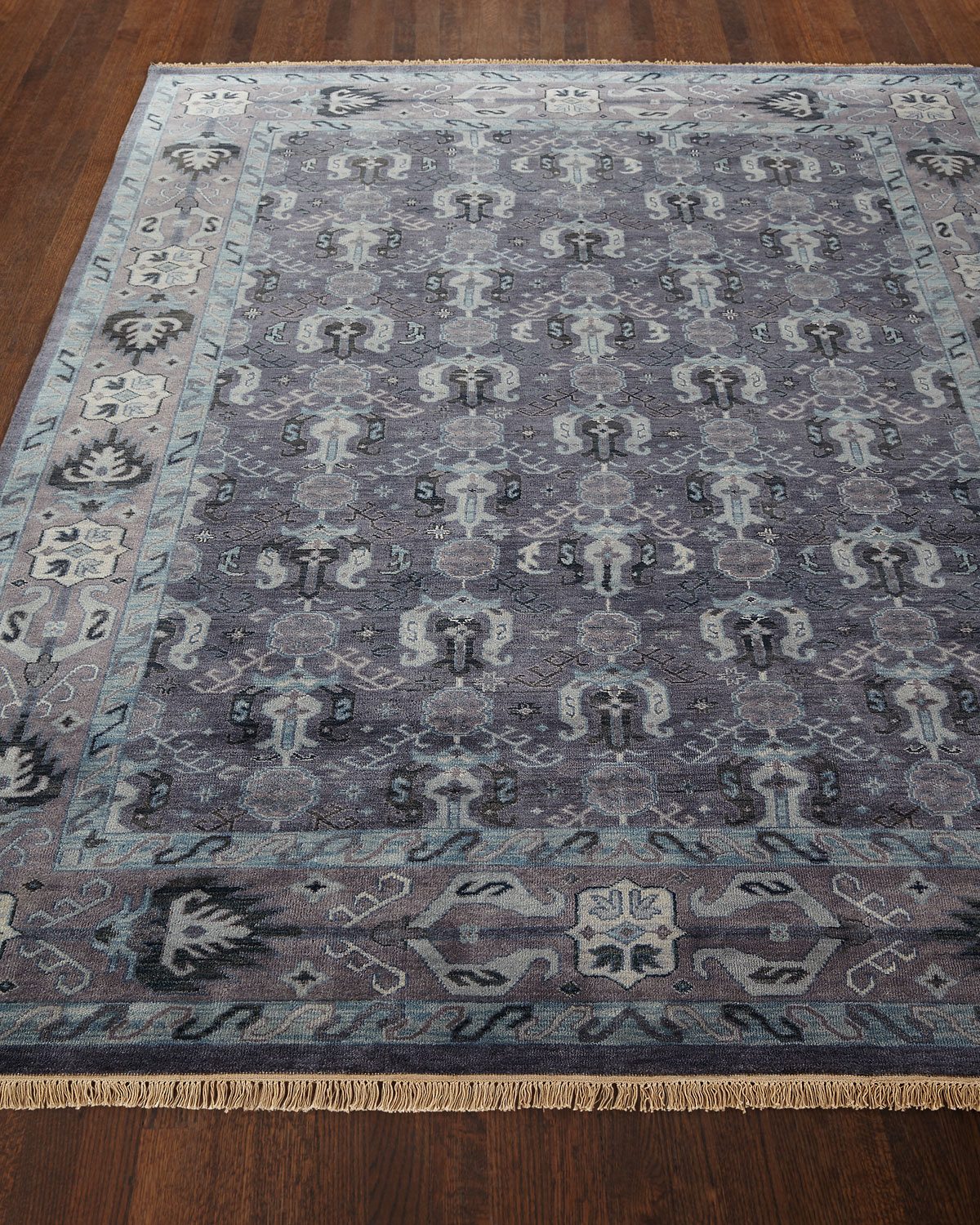 """Remie Hand-Knotted Rug, 5'6"""" x 8'6"""" Product Image"""