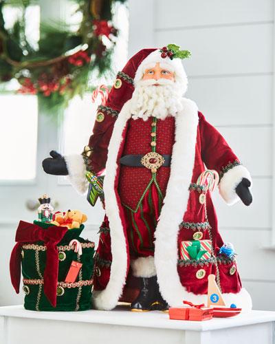 Hidden Treasures Advent Santa