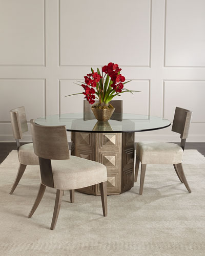 Boxed Dining Table Horchow Com